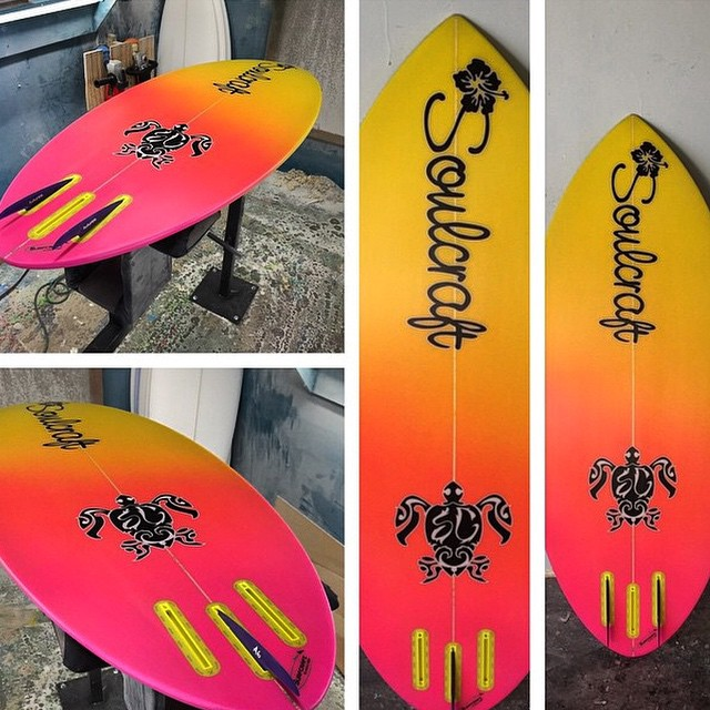 Soulcraft Board with A6 Fins