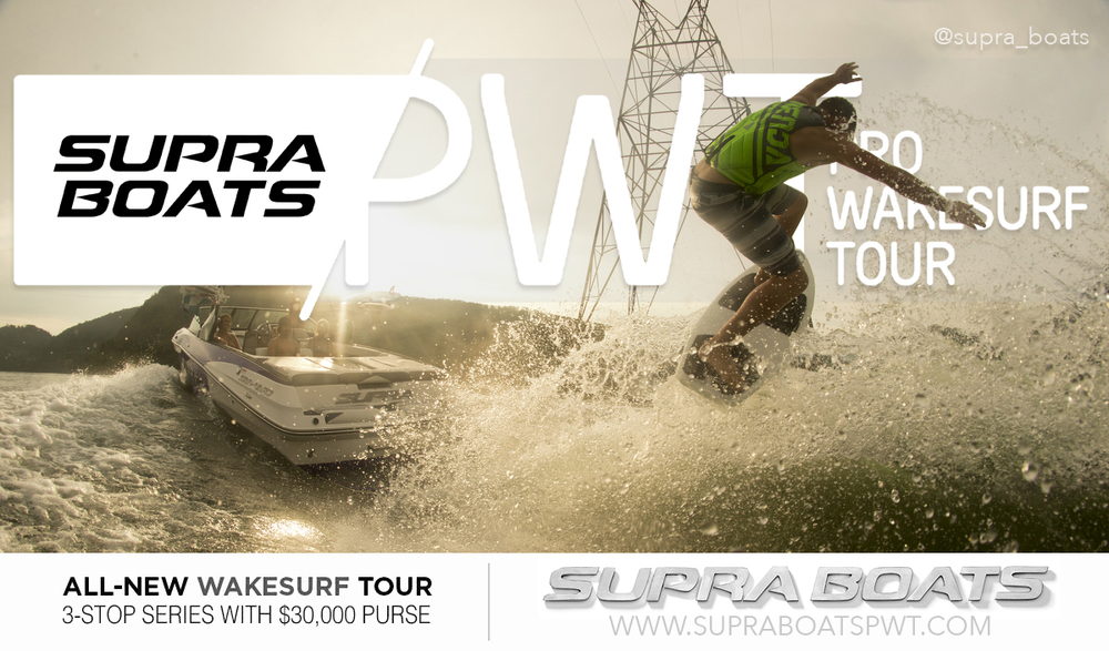 Supra Boats Pro Wake Surf Tour