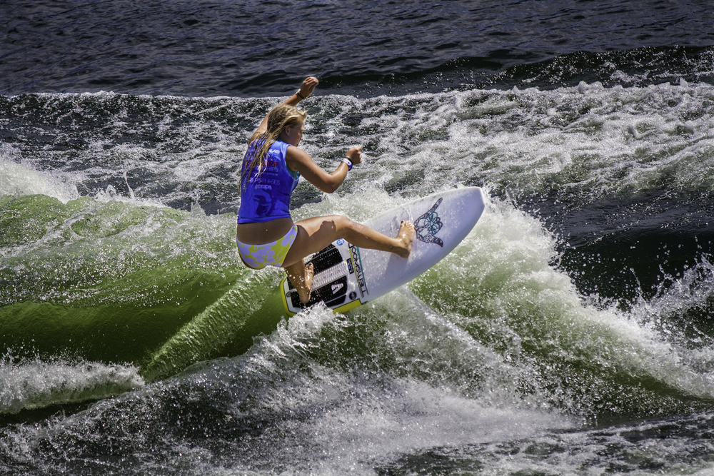 Doomswell team rider, Raya Walker, at Nationals.  Photo- Tim Walker