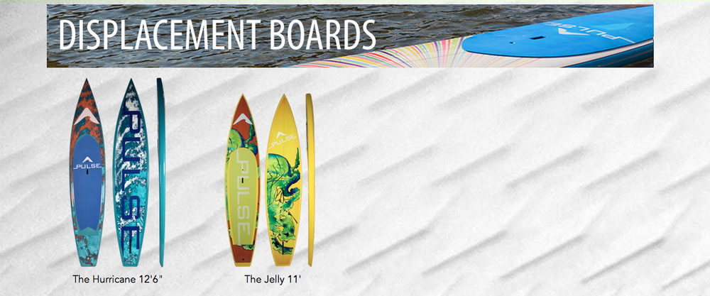 Pulse SUP Displacement Boards