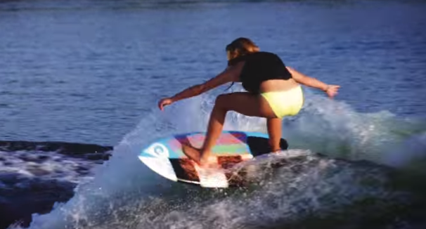Frankie Jost video on the iSurf F-Grom