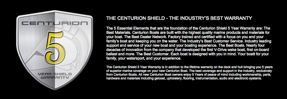 Centurion Factory 5 Warranty