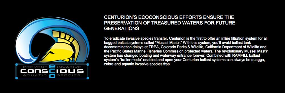 Centurion Eco Conscious