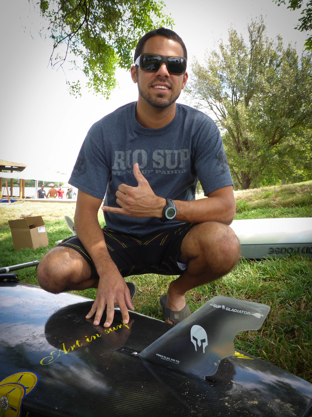 Joe Cerdas Team SUP Gladiator