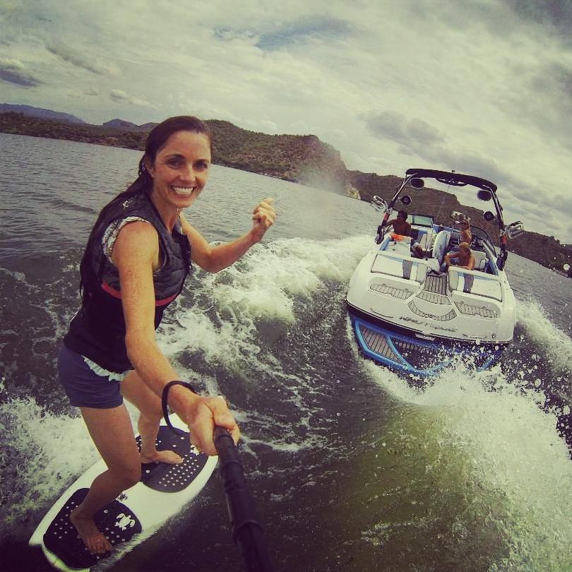April Gould- American Ninja Warrior and wakesurfer