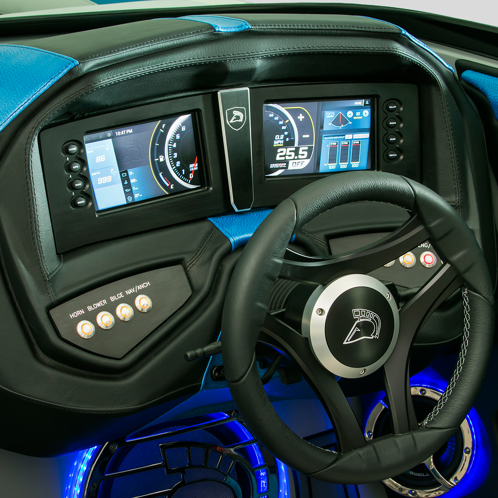 Centurion's new interior dual touch screen