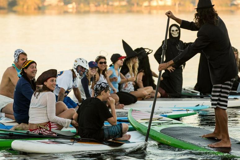 Halloween at Paddleboard Orlando