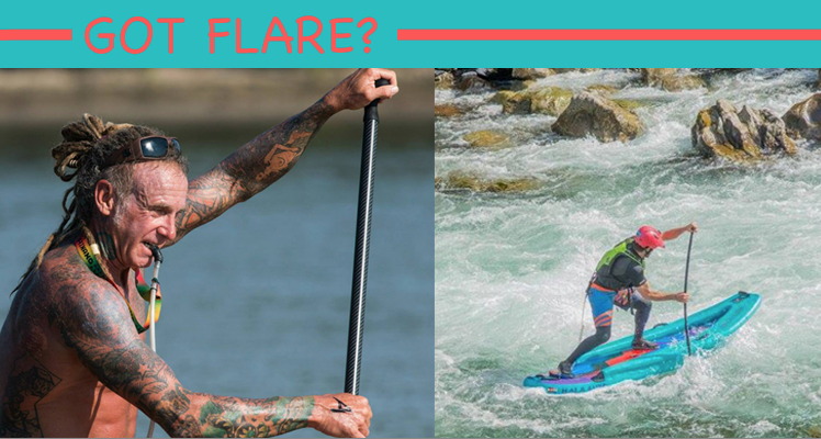 Got Flare?  Stand up Paddleboarding Flare