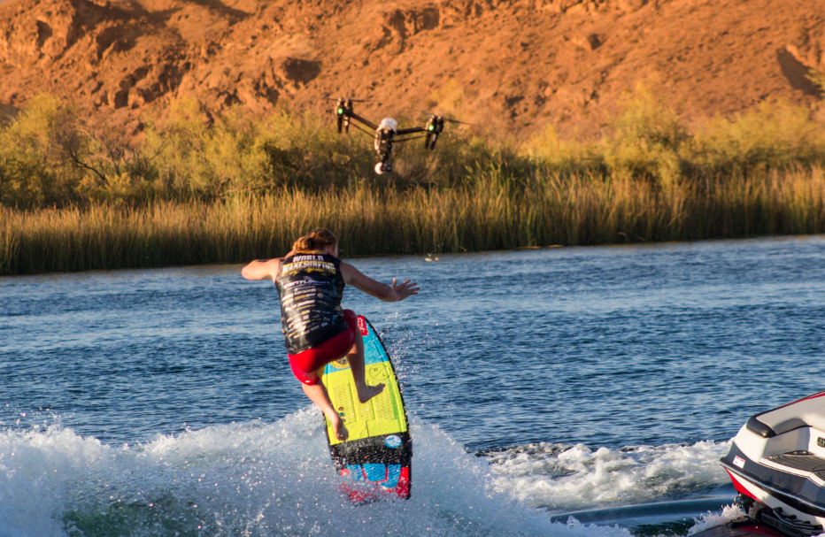 Noah Fleegal, Men's Pro Surf Final Run- 2015 World Wake Surfing Championship, Parker Arizona