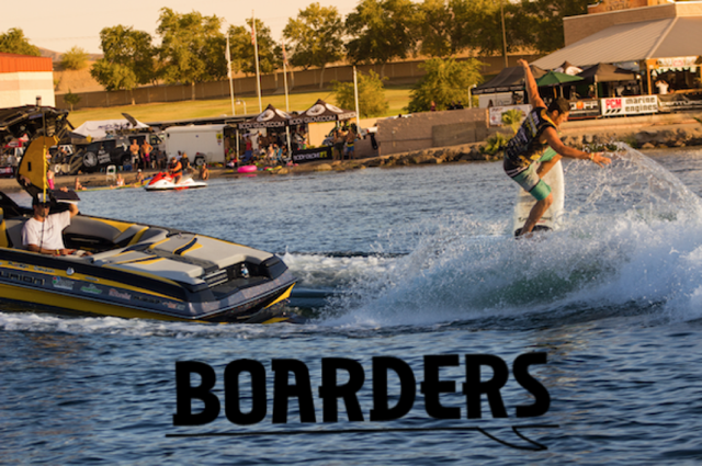 Chris Wolter at the 2015 World Wake Surf Championship in Parker, AZ. Photo: Danny Braught