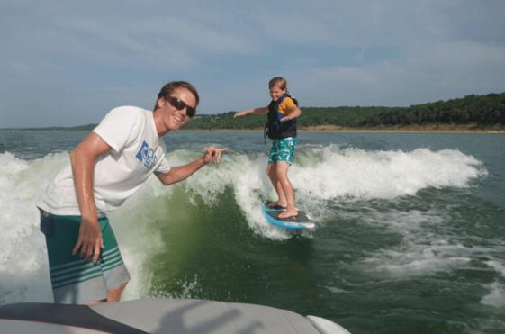 DFW Surf founder Tyler Marshall
