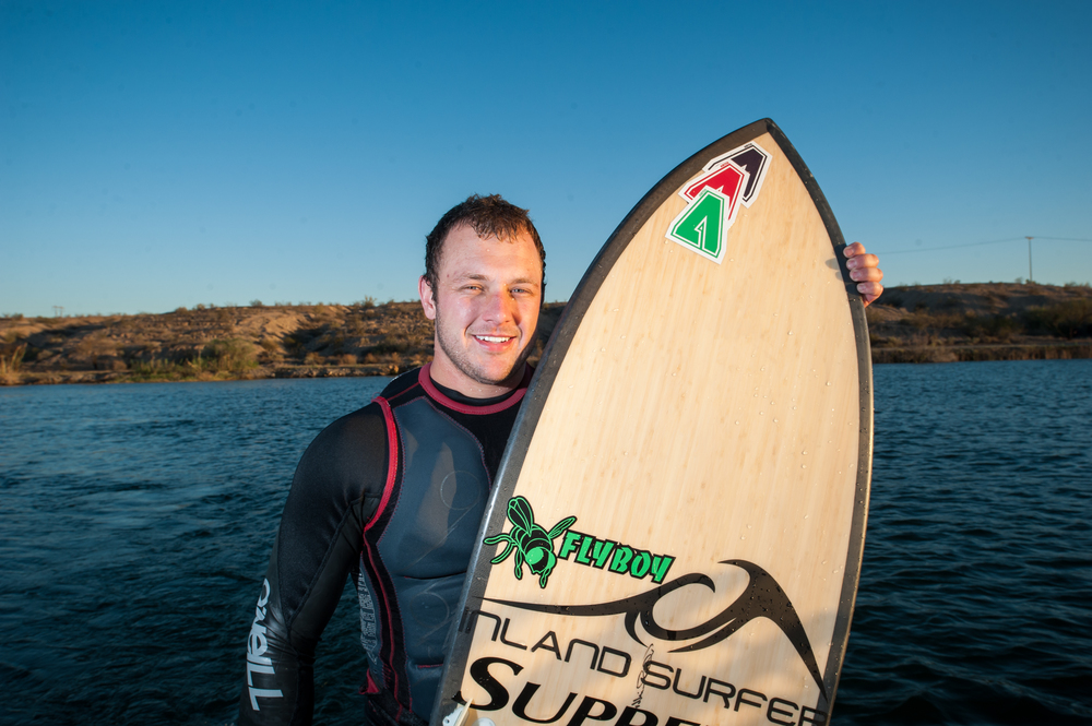 James Walker Pro Wakesurfer