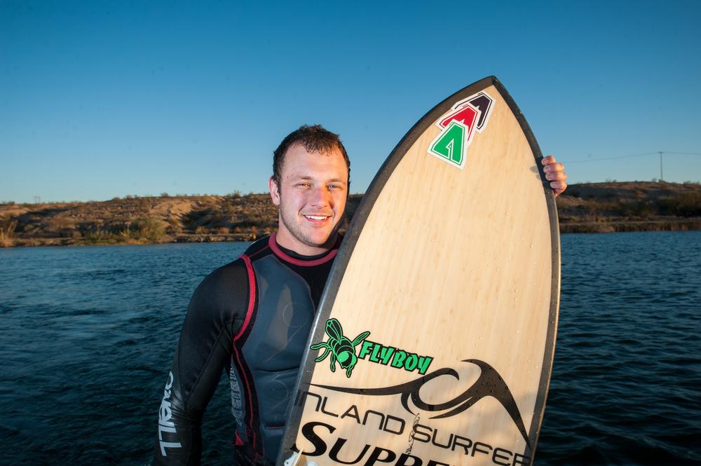 James Walker Pro Wakesurfer