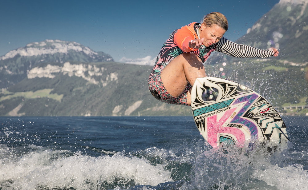 Korina Smyrek- Pro Wakesurfer from Switzerland