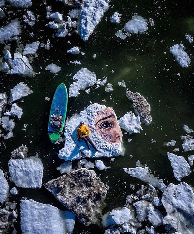 @renan_ozturk photo // Exploration isn't just about seeking the places that haven't been found. It's just as much about creating things that haven't been created, especially when that art and those stories can give voice to things unheard. Unfelt. That's an adventure in itself. ~ #repost @natgeo  @the_hula @taylorfreesolo @rudy.le @paytenpurdy @camp4collective