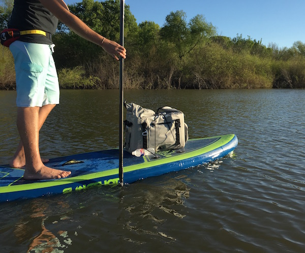 DryCase Cooler Paddleboarding
