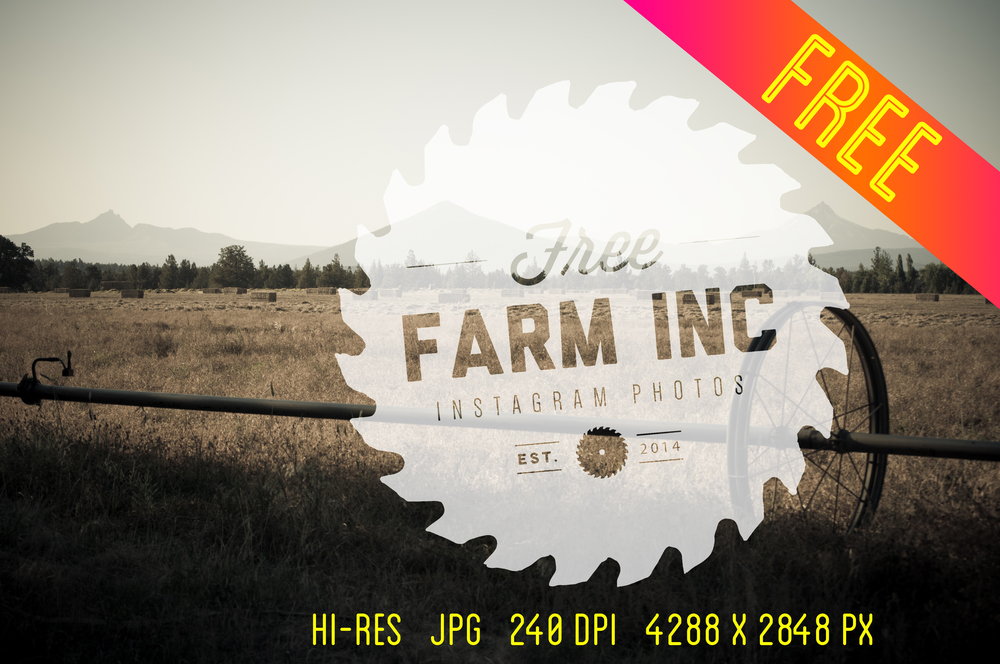 Free Hi-Res Vintage-Feel Stock Farm Images