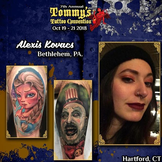 Hey #hartfordct mama cheetah is coming for ya! She has 2 spots left for @tommystattooconvention oct 19-21 email electriccheetahtattoos@gmail.com with your ideas! #tattoos #tattooartist #bestink #redemptiontattoocare #eternalinksponsoredartist