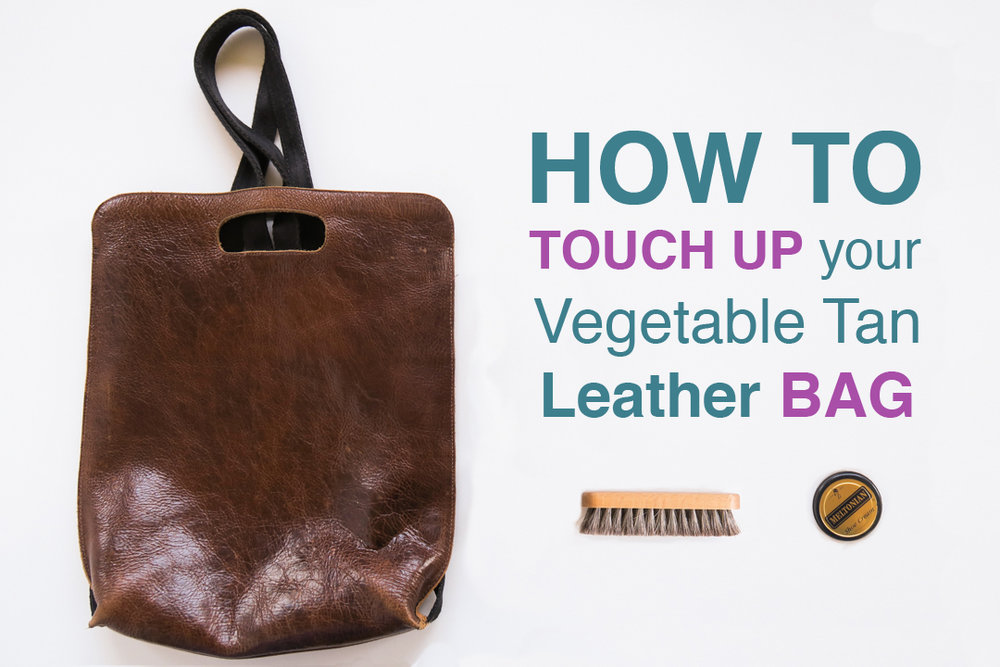 leather bag touch up