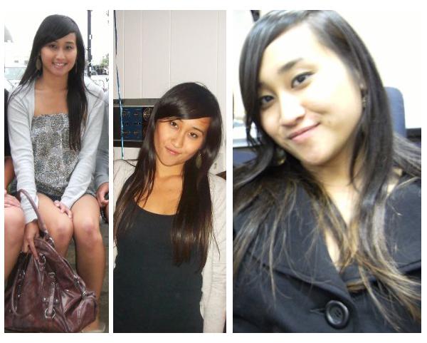 My hair at chest length 2008-2009
