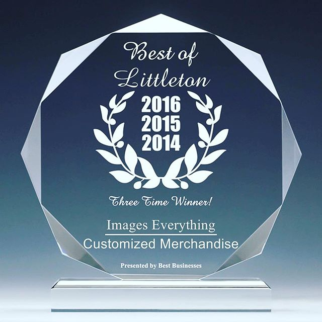 So honored and excited to receive this award again! #customapparel #hardworkpaysoff #imageseverything