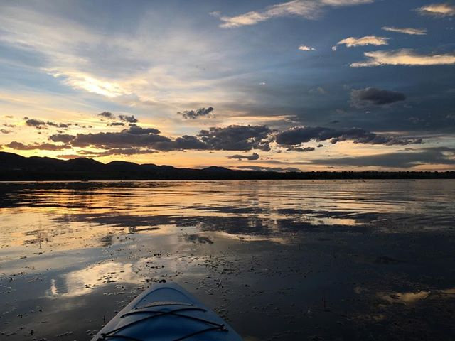 #coloradoliving #sunsetkayakimg