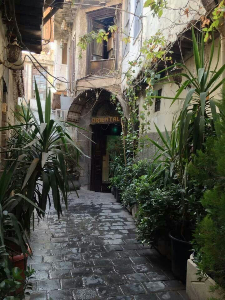 Old Damascus.