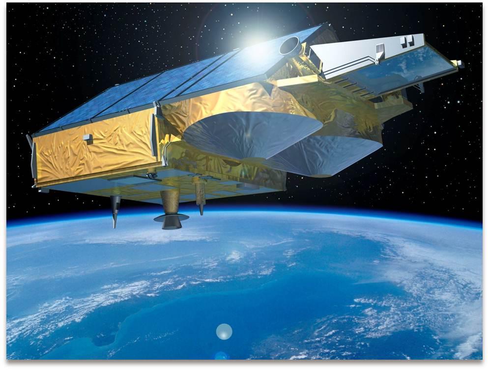 Imagen 2. Elsatélitede reemplazo,CryoSat-2,fue lanzado con éxitoen 2010.