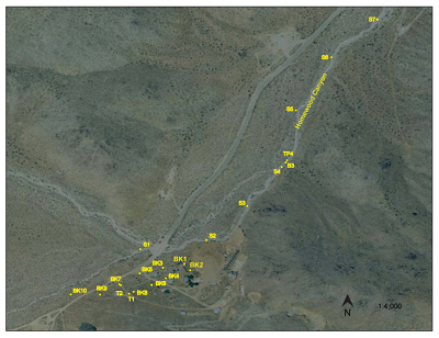 Fig. 2: Acercamiento al Cañón Homewood.