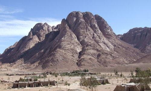 El monte Sinaí donde el Moisés ambiental hubiera elaborado los principios del EIA 2.0