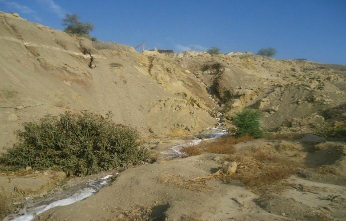 El traslado de los efluentes por los acantilados origina la erosión de las laderas