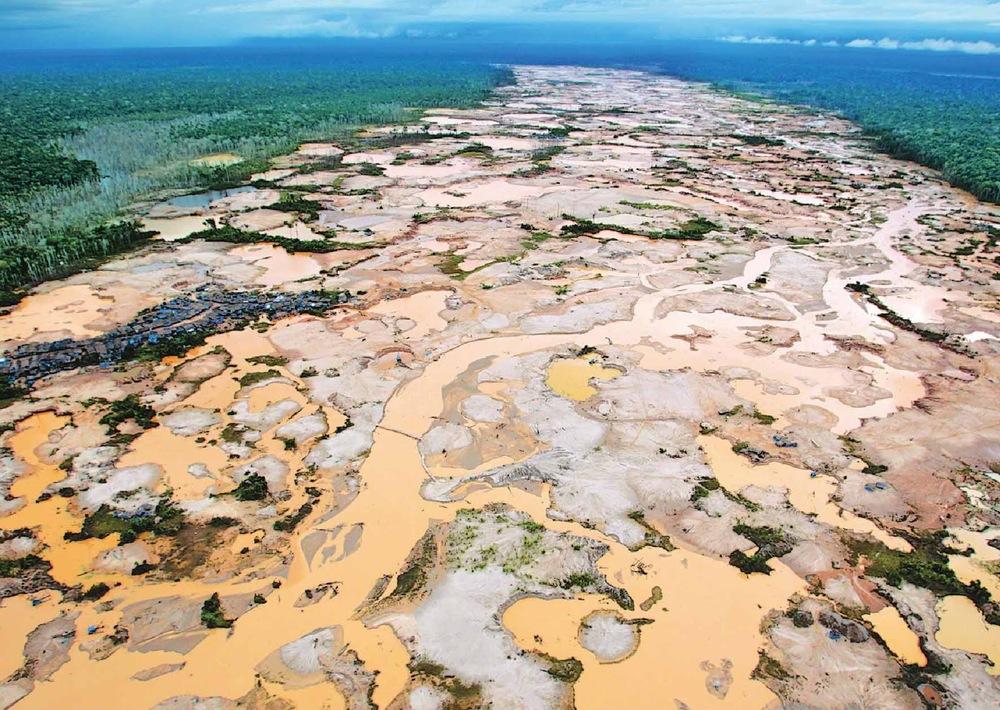 Un tema ambiental que se nos escapó: la destrucción de la Amazonía por la minería ilegal