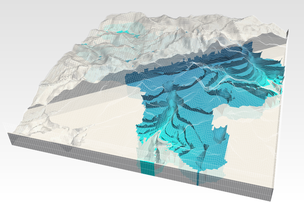 Modelo del flujo de agua subterránea en una cuenca andina con MODFLOW