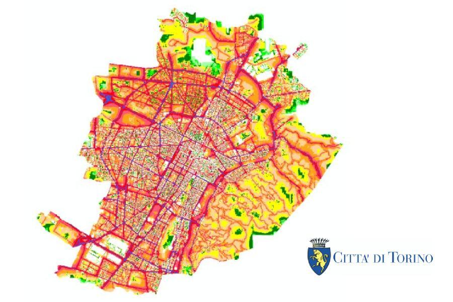 Modelamiento de Ruido para la Ciudad de Turín - Italia