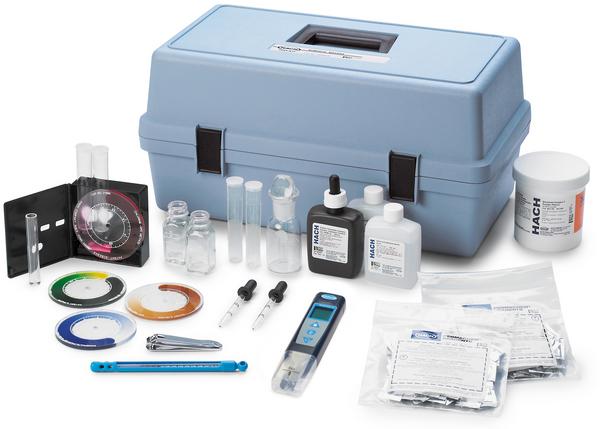 Kit de análisis de aguas superficiales de Hach