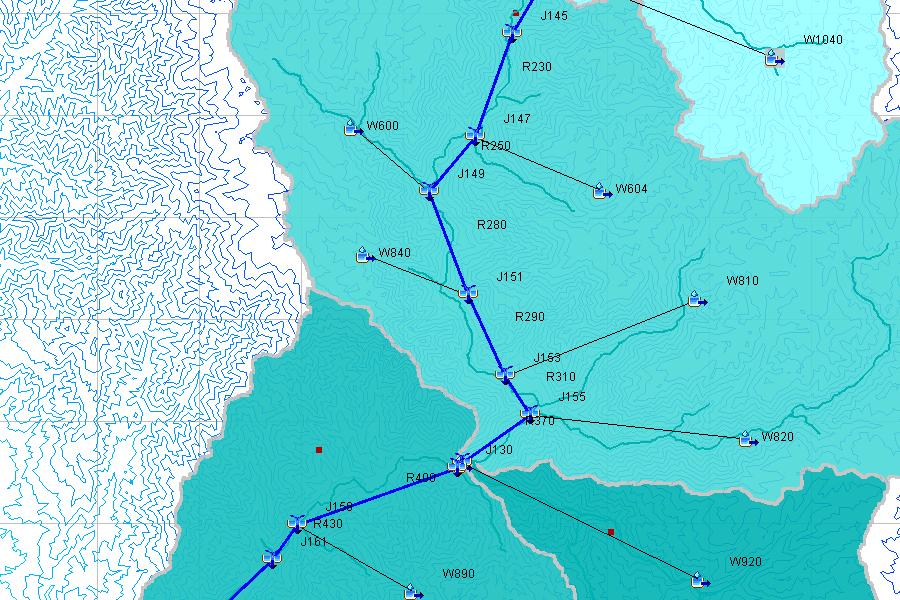 Esquema de Modelamiento Hidrológico de la Cuenca del Rio Cañete