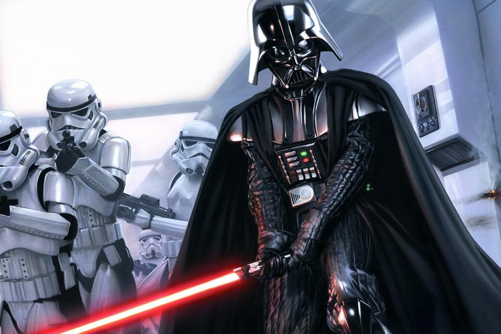 Si Darth Vader hubiese sido ambiental, seguro que hubiera hecho EIAs solamente como lo indican los TdR. Foto imgur.com