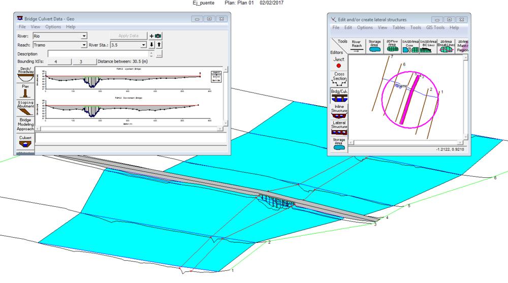 Tutorial De Creación De Geometría De Puente En Hec Ras Gidahatari