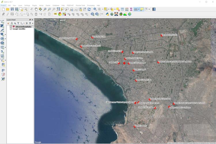Tutorial de geolocalizacin de bsquedas de google con python y qgis para realizar una serie de estudios e investigaciones tenemos que saber el nombre y la ubicacin de ciertos lugares esto quiz sea disponible a travs de gumiabroncs Image collections