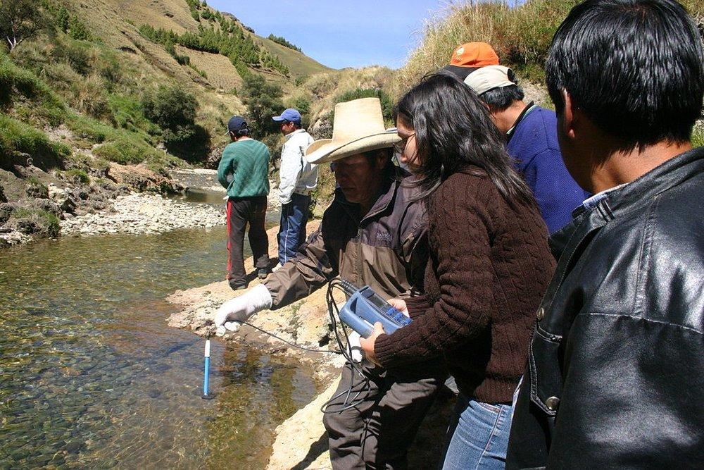 Monitoreo Participativo en Yanacocha - Cajamarca, Perú(fuente: Wikipedia).