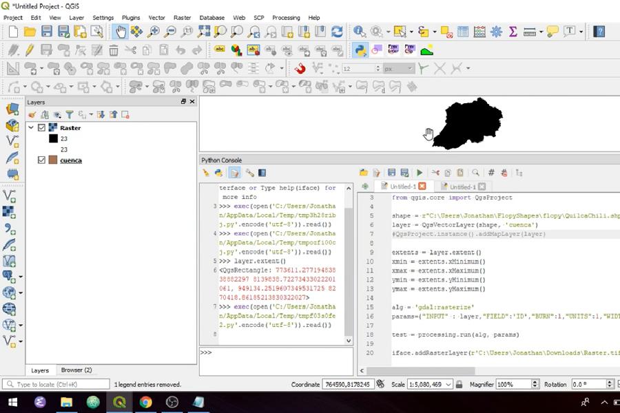Tutorial de Rasterización de Shapefiles con Python y QGIS