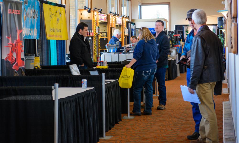 Informative trade show