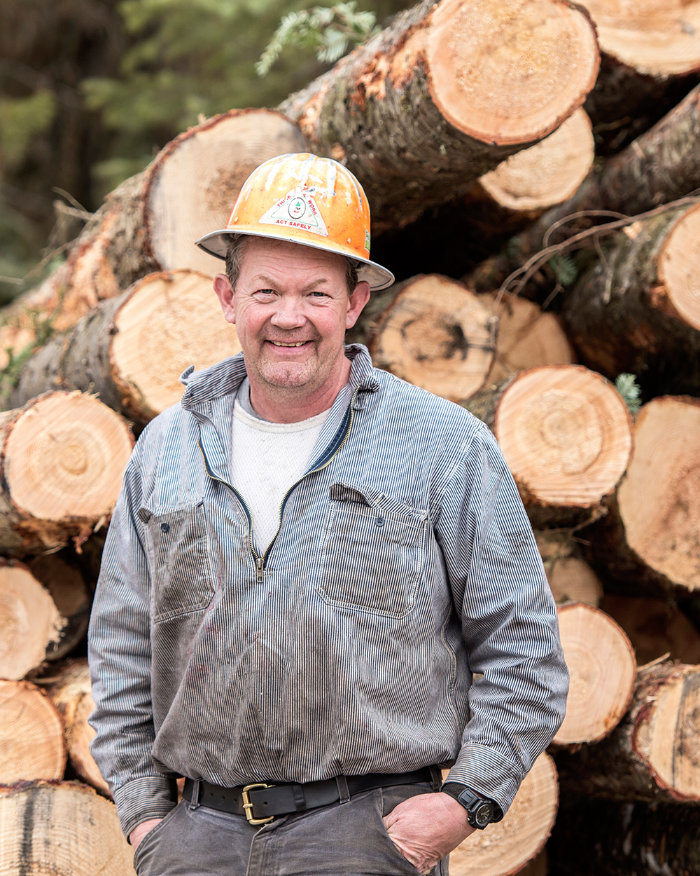 Mike Newton, Owner of Newton Logging Inc.