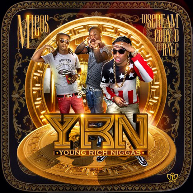"Young Rich Niggas    is all a mixtape should be. It's loud, fun, and consistent; an opus of the Atlanta ""Bandos"" where Quavo, Takeoff, and Offset once sold crack. What sets    YRN    apart from any   OJ Da Juiceman   or   Young Dolph   tape, however, is its continually entertaining enthusiasm - Quavo telling you to hand   weed back to your Uncle  , Takeoff   rapping without breathing for 15 seconds  , or their   constant bickering over ad libs  .   Terio   loves it and so do kids at Wesleyan. It's a perfect example of what makes modern rap so special - if you put enough energy into a tape,   2 million people might enjoy it"