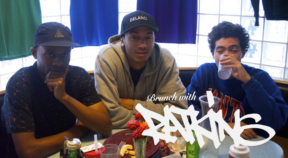 Ratking is Sporting Life, Hak, and Wiki (from left to right). Photo by Alex Fabry.