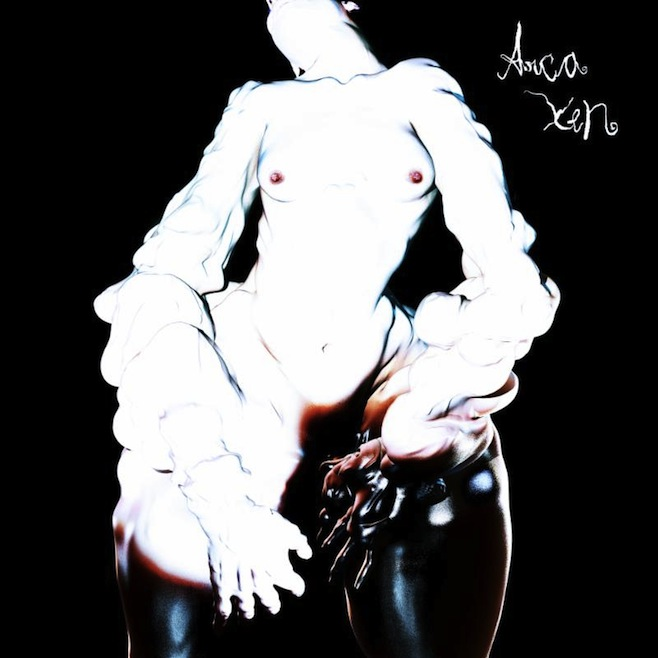 "Arca //  Xen      Xen  is Venezuelan producer Arca's full length debut. It's also his exhibitionist, apparently ""androgynous,"" alter ego. Ze is lithe, glistening, zombie-green, and accompanied by a wonderfully grotesque array of malformed human balloon creatures. Reaching out to you from the uncanny valleys of visual artist-collaborator Jesse Kanda's music videos and album art, hir dance moves arouse and alienate. As your mind reels from the sight of these contortionist fever dreams, Arca's music, at once skittish and tranquil, hypermodern and bogglingly referential to classical music, offers no respite from their weirdness.  Xen  swings from taught, sensory-overload bangers like the opener ""Now You Know"" to sparse, beatless expanses of meandering synths like ""Failed."" It's an astonishing trove of thought-provoking ear candy that's sure to propel Arca on to incredible collaborations (Bjork's new album in 2015) and further projects of his own.   Listen:  ""Xen"""