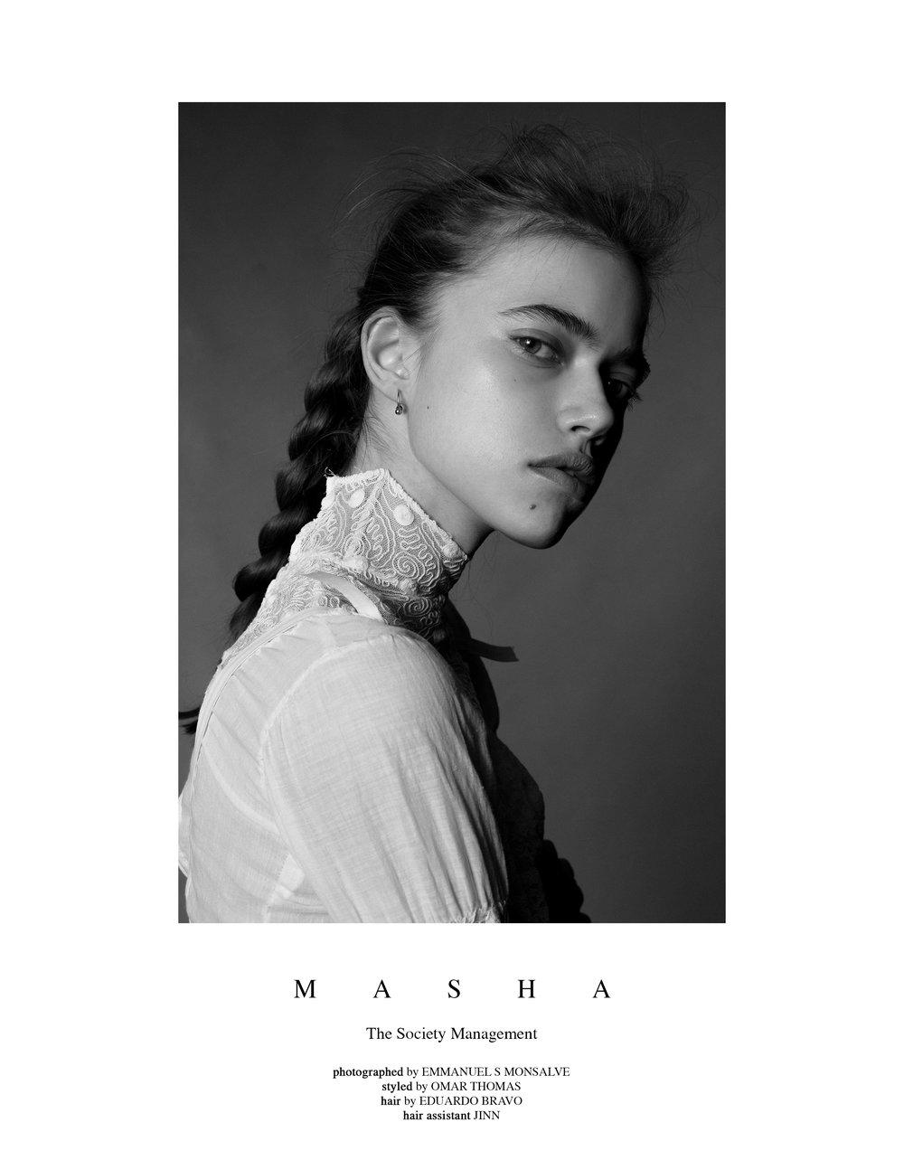 Masha at The Society