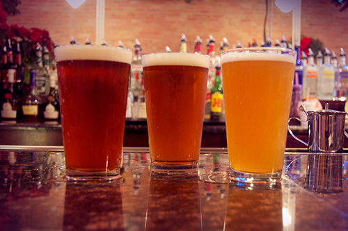 The best beers on tap.