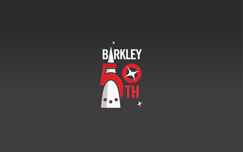 This five follows the actual markings on the real Barkley rocket.