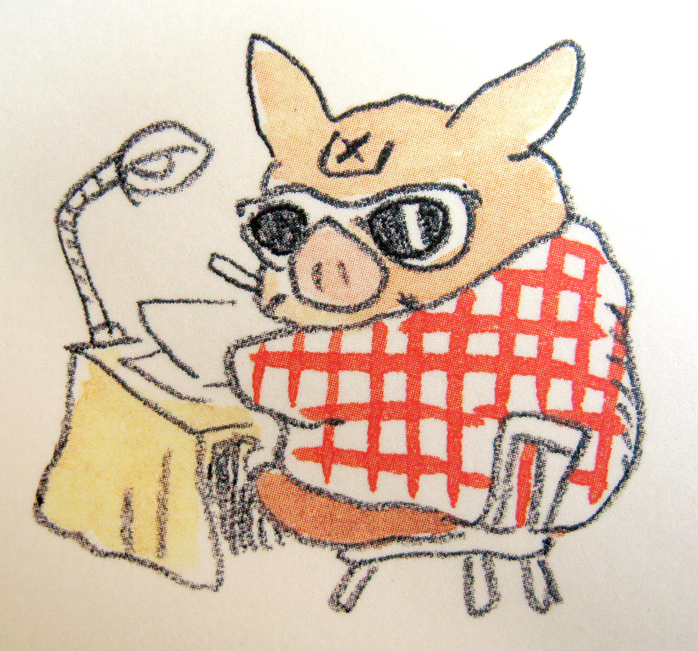 Hayao Miyazaki - Self Portrait.